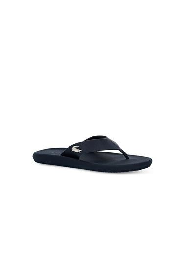 Lacoste Erkek Croco Sandal 219 1 Cma Terlik 737CMA0015.092 Lacivert